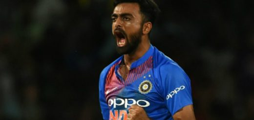 Jaydev Dipakbhai Unadkat Bio, Height, Weight, Age, Family, Girlfriend And Facts - jaydev unadkat 520x245