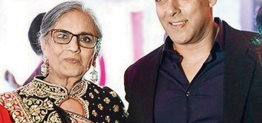 Sushila Charak Age, Bio, Height, Weight, Husband, Wife, Facts - Sushila Charak with salman khan 520x245